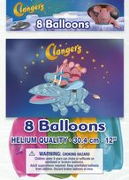 "Clangers 12"" Latex Balloons (8)"